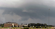 April 29,2014. Canton Mississippi. USA-<br /> <br /> Deadly Tornadoes Devastate Central and Southern US States<br /> <br /> A severe thunderstorm wall cloud is seen over the area  of Canton Mississippi Tuesday April 29,2014. No tornadoes were reported today as outbreak of severe storms will continue through Wednesday  with the death toll at 35 for the last three days...<br /> ©Exclusivepix
