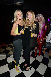 Left to right, CHRISSIE REEVES and SINCLAIR SELLARS at a party to celebrate the launch of Charlie Gilkes and Duncan Stirling's new nightclub 'Disco' at 13 Kingly Court, London on 26th June 2013.