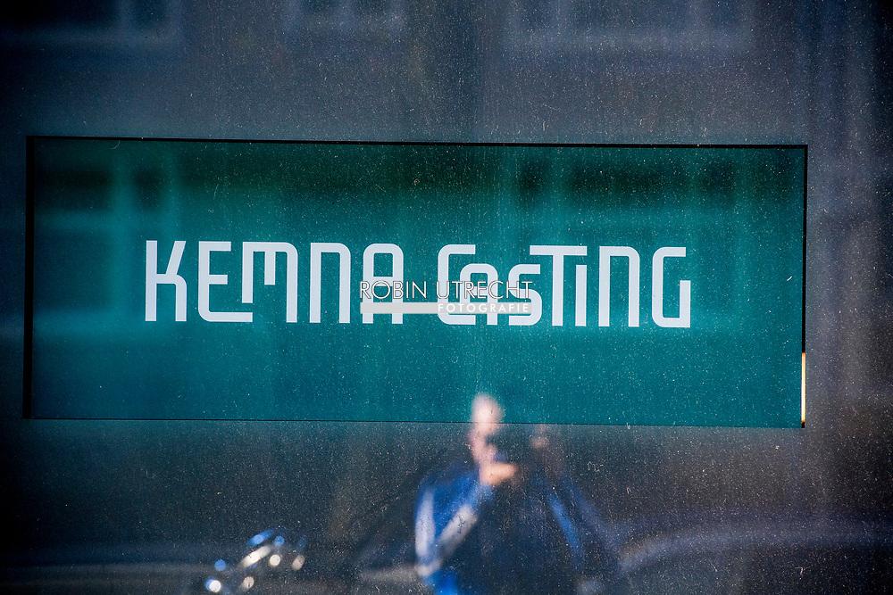 AMSTERDAM - Exterieur van Kemna Casting. Job Gosschalk werd bekend als mede-eigenaar van het castingbureau. Diverse acteurs doen aangifte tegen regisseur- en televisieproducent.  ROBIN UTRECHT