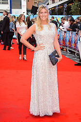 Image ©Licensed to i-Images Picture Agency. 12/08/2014. London, United Kingdom. <br /> Francesca Hull attends the What If - UK film premiere. Leicester Square. Picture by Chris Joseph / i-Images
