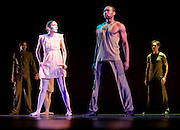 "Images from the dres rehearsal and opening night of Rebecca Kelly Ballet's Spring season 2008 at the John Jay Theater in New York City.  Ballets performed included the premier of ""Writing in Water"" as well as ""Adirondack Elemental"", ""Tear of the Clouds"", and ""Long Time Passing"".  All choreographed by Rebecca Kelly.  (Photo/Todd Bissonette-www.rtbphoto.com)"