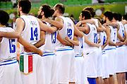 LUBIANA EUROBASKET 2013 20 SETTEMBRE 2013<br /> NAZIONALE ITALIANA MASCHILE<br /> UCRAINA VS ITALIA<br /> NELLA FOTO: TEAM<br /> FOTO CIAMILLO