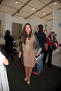 PRINCESS ALIA AL-SENUSSI; , opening of the 2010 Frieze art fair. Regent's Park. London. 13 October 2010. -DO NOT ARCHIVE-© Copyright Photograph by Dafydd Jones. 248 Clapham Rd. London SW9 0PZ. Tel 0207 820 0771. www.dafjones.com.