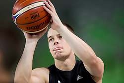 Klemen Prepelic during basketball match between Slovenia and Montenegro in Round #6 of FIBA Basketball World Cup 2019 European Qualifiers, on July 1, 2018 in Arena Stozice, Ljubljana, Slovenia. Photo by Urban Urbanc / Sportida