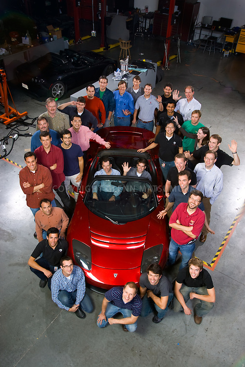 Tesla Motors in San Carlos has a large amount of Stanford Alumni working at or associated with the company.