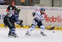 30.11.2014, Saturn Arena, Ingolstadt, GER, DEL, ERC Ingolstadt vs Eisbären Berlin, 22. Runde, im Bild Jens Baxmann (Nr.29, Eisbaeren Berlin) // during Germans DEL Icehockey League 22nd round match between ERC Ingolstadt and Eisbären Berlin at the Saturn Arena in Ingolstadt, Germany on 2014/11/30. EXPA Pictures © 2014, PhotoCredit: EXPA/ Eibner-Pressefoto/ Strisch<br /> <br /> *****ATTENTION - OUT of GER*****
