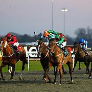 Artistical and Liam Jones winning the 4.30 race
