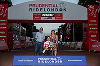 Liz McTernan (GBR) winner of the H4 Women's race in The Prudential RideLondon Handcycle Grand Prix. Saturday 28th July 2018<br /> <br /> Photo: Ian Walton for Prudential RideLondon<br /> <br /> Prudential RideLondon is the world's greatest festival of cycling, involving 100,000+ cyclists - from Olympic champions to a free family fun ride - riding in events over closed roads in London and Surrey over the weekend of 28th and 29th July 2018<br /> <br /> See www.PrudentialRideLondon.co.uk for more.<br /> <br /> For further information: media@londonmarathonevents.co.uk