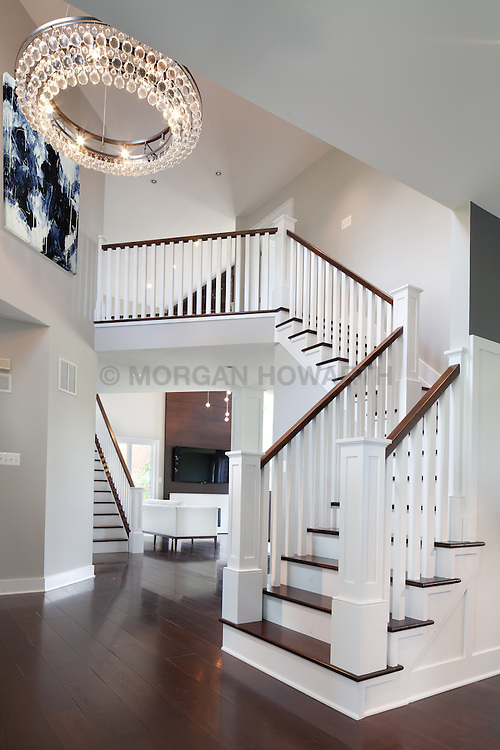 3602 Willow Birch Drive Glenwood, MD interior architecture stair in from entry or foyer