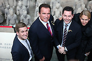 XI'AN, CHINA - DECEMBER 05:  China Out - Finland Out<br /> <br /> Arnold Schwarzenegger Visits China<br /> <br /> Actor Arnold Schwarzenegger visits the Qin Shi Huang Terracotta Warriors and Horses Museum on December 5, 2013 in Xi'an, Shaanxi Province of China. <br /> ©Exclusivepix