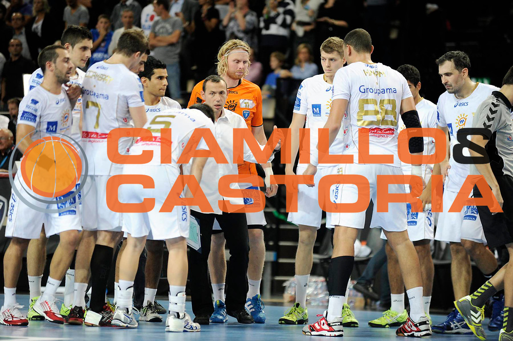 DESCRIZIONE : France Hand D1 Championnat de France D1 a Montpellier<br /> GIOCATORE : Patrice Canayer<br /> SQUADRA : Montpellier<br /> EVENTO :  Hand D1<br /> GARA : Montpellier Dunkerque<br /> DATA : 25/10/2012<br /> CATEGORIA : Hand D1 <br /> SPORT : Handball<br /> AUTORE : JF Molliere <br /> Galleria : France Hand 2012-2013 Action