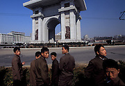 Central Pyongyang