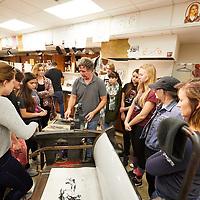 2017 UWL Fall Alumni Printmakers Tandem Press