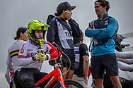 #911 (SHRIEVER Bethany) GBR at Round 3 of the 2020 UCI BMX Supercross World Cup in Bathurst, Australia.