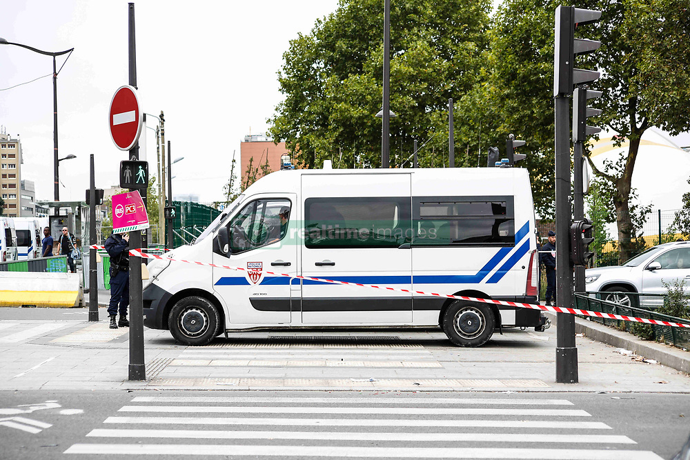 August 21, 2017 - Porte De La Chapelle, France - CRS (Credit Image: © Panoramic via ZUMA Press)