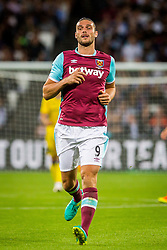 Andy Carroll of West Ham during 2nd Leg football match between West Ham United FC and NK Domzale in 3rd Qualifying Round of UEFA Europa league 2016/17 Qualifications, on August 4, 2016 in London, England.  Photo by Ziga Zupan / Sportida