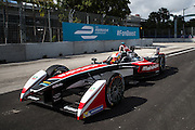 March 14, 2015 - FIA Formula E Miami EPrix: Karun Chandhok, Mahindra Racing