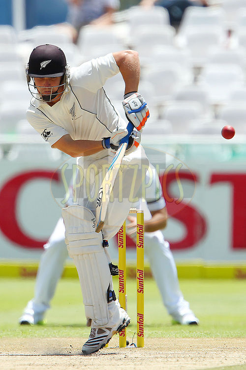BJ Watling during the 3rd day of the 1st Sunfoil Test match between South Africa and New Zealand held at Newlands Stadium in Cape Town, South Africa on the 4th January 2013..Photo by Ron Gaunt/SPORTZPICS .