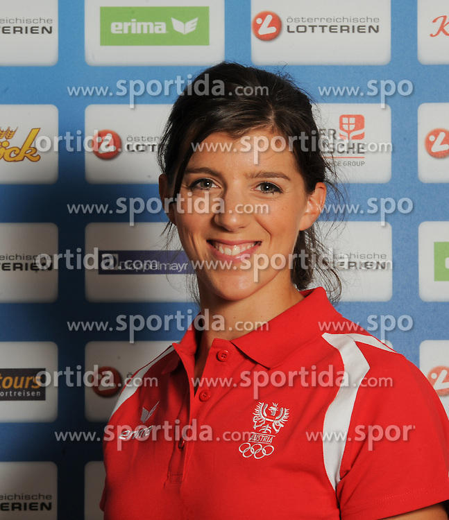 17.07.2016, Hotel Mariott, Wien, AUT, Olympia, Rio 2016, Einkleidung OeOC, im Bild Lobing Magdalena ( Rudern) // during the outfitting of the Austrian National Olympic Committee for Rio 2016 at the Hotel Mariott in Wien, Austria on 2016/07/17. EXPA Pictures © 2016, PhotoCredit: EXPA/ Erich Spiess