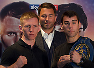 Matchroom Boxing Press Conference 140119