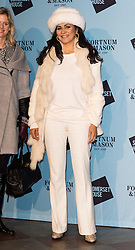 © Licensed to London News Pictures. 16/11/2016. WILNELIA MERCED attends the Skate At Somerset House with Fortnum & Mason VIP Party. London, UK. Photo credit: Ray Tang/LNP