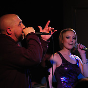 Christian Wisecarver and Holly Winchell of Super Sectret Project (Granite State of Mind) performs live at The Loft in Portsmouth, NH