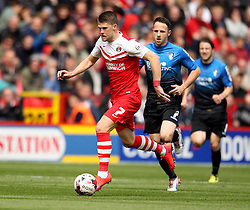 Charlton Athletic's Johann Guomundsson - Photo mandatory by-line: Robbie Stephenson/JMP - Mobile: 07966 386802 - 02/05/2015 - SPORT - Football - Charlton - The Valley - Charlton v AFC Bournemouth - Sky Bet Championsip