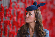 KATE & Prince William Attend ANZAC Service 2