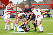 during the Ladbrokes Scottish Premiership match between Hamilton Academical FC and Heart of Midlothian at New Douglas Park, Hamilton, Scotland on 24 January 2016. Photo by Craig McAllister.