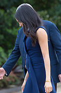 Meghan Markle Baby Bump 1st View
