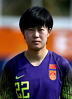 International Women's Friendly Matchs 2019 / <br /> Womens's Algarve Cup Tournament 2019 - <br /> China v Norway 1-3 ( Municipal Stadium - Albufeira,Portugal ) - <br /> WANG SHIMENG of China