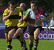 Intersport Images. .Photo: Peter Spurrier.Zurich Premiership - NEC Harlequins v London WaspsQuin's, Dan Luger being chased by Fraser Waters... ...........[Mandatory Credit, Peter Spurrier/ Intersport Images][Mandatory Credit, Peter Spurrier/ Intersport Images]