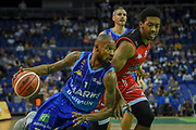 Chris Alexander of Sheffield Sharks during the Betway British Basketball All-Stars Championship at the O2 Arena, London, United Kingdom on 24 September 2017. Photo by Martin Cole.