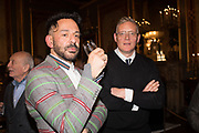 DARREN ARABIA-GANDER, GILES DEACON, Stephen Jones private view for his exhibition at the Royal Pavilion, Brighton. 6 February 2019