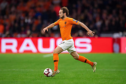 24-03-2019 NED: UEFA Euro 2020 qualification Netherlands - Germany, Amsterdam<br /> Netherlands lost the match 3-2 in the last minute / Daley Blind #17 of The Netherlands