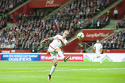 October 8, 2017 - Warsaw, Poland - Kamil Grosicki of Poland in action during the FIFA World Cup 2018 Qualifying Round Group E match between Poland and Montenegro at National Stadium in Warsaw, Poland on October 8, 2017  (Credit Image: © Andrew Surma/NurPhoto via ZUMA Press)