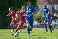 Jonas Jakobsen (Skovshoved IF) under kampen i 2. Division mellem Skovshoved IF og FC Helsingør den 3. august 2019 i Skovshoved Idrætspark (Foto: Claus Birch)