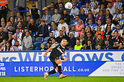 Martyn Waghorn of Derby County (9) passes the ball during the EFL Sky Bet Championship match between Huddersfield Town and Derby County at the John Smiths Stadium, Huddersfield, England on 5 August 2019.