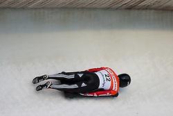 03.12.2011, Eiskanal, Igls, AUT, Viessmann FIBT Bob und Skeleton Weltcup, Skeleton Herren, 1. Durchgang, im Bild Raphael Maier (AUT) // Raphael Maier  of Austria during first run men's Skeleton at FIBT Viessmann Bobsleigh and Skeleton World Cup at Olympic ice canal, Innsbruck Igls, Austria on 2011/12/03. EXPA Pictures © 2011, PhotoCredit: EXPA/ Johann Groder