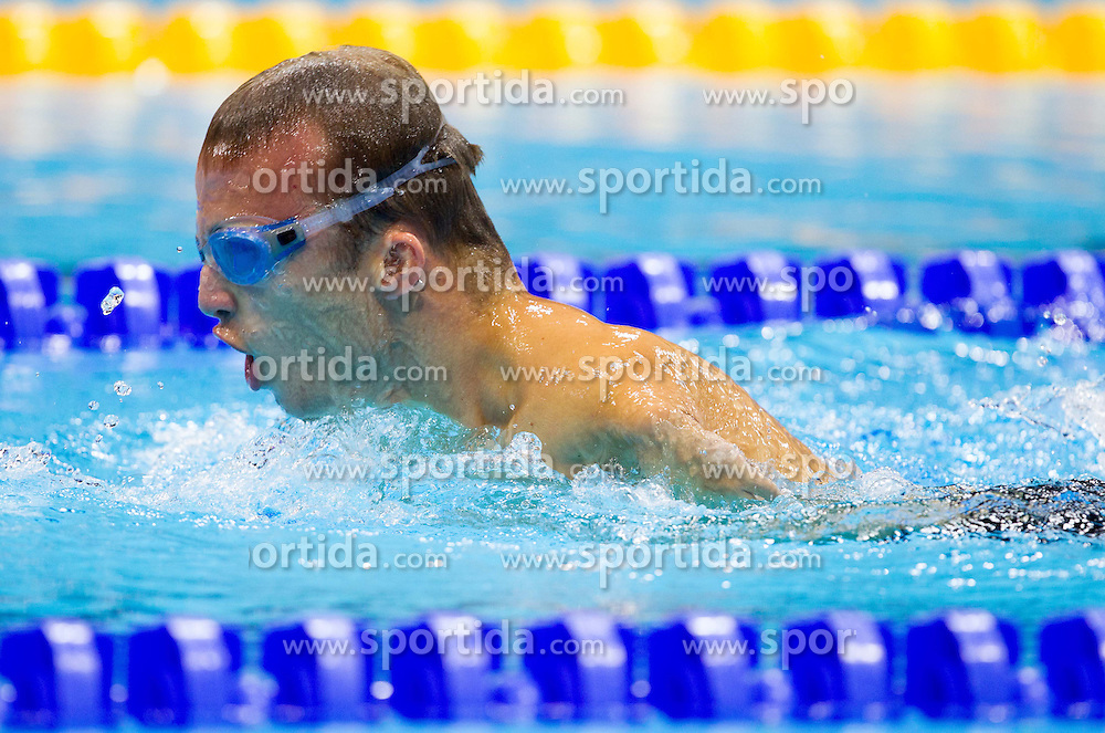 Christoffer Lindhe of Sweden competes during the Men's 200m Freestyle S4 Heat 1  during Swimming competition during Day 10 of the Summer Paralympic Games London 2012 on September 7, 2012, in  Aquatics centre, London, Great Britain. (Photo by Vid Ponikvar / Sportida.com)