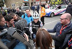 Lizzie Deignan of team Trek-Seagfredo during stage one of the 2019 Women's Tour de Yorkshire.