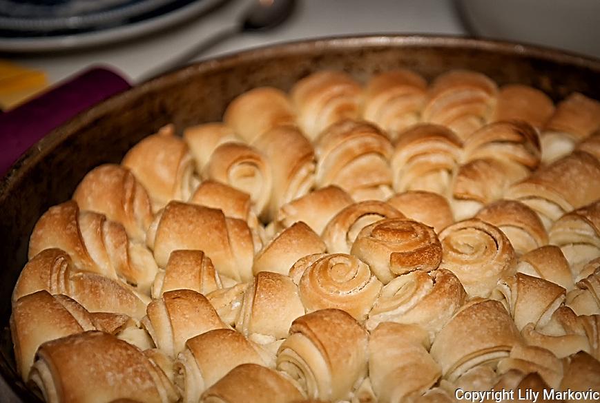 Homemade unleavened Bread