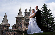 Photo by Gary Cosby Jr.  ..Maria and Perry are married at Boldt Castle in the Thousand Islands in the Saint Lawrence River, New York.