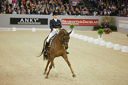Vilhelmson Silfven Tinne (SWE) - Favourit<br /> FEI World Cup Dressage Final - 's Hertogenbosch 2010<br /> © Dirk Caremans
