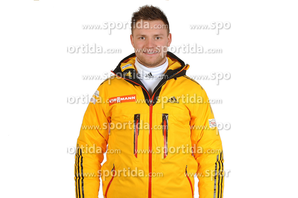 03.01.2014, Kunsteisbahn, Koenigssee, GER, BSD, Rennrodler Team Deutschland, Portrait, im Bild Toni Eggert (BRC 1924 Ilsenburg/Harz) // during Luge athletes of team Germany, Portrait Shooting at the Kunsteisbahn in Koenigssee, Germany on 2014/01/04. EXPA Pictures &copy; 2014, PhotoCredit: EXPA/ Eibner-Pressefoto/ Stuetzle<br /> <br /> *****ATTENTION - OUT of GER*****