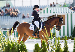 Angela Peavy, (USA), Ozzy Cooper - Team Competition Grade III Para Dressage - Alltech FEI World Equestrian Games™ 2014 - Normandy, France.<br /> © Hippo Foto Team - Jon Stroud <br /> 25/06/14