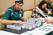 New Bobcats were welcomed to Ohio University and received their student ID's during Bobcat Student Orientation on Friday, June 5, 2015.  Photo by Ohio University  /  Rob Hardin