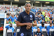 Brighton Manager, Chris Hughton during the Pre-Season Friendly match between Brighton and Hove Albion and SS Lazio at the American Express Community Stadium, Brighton and Hove, England on 31 July 2016.