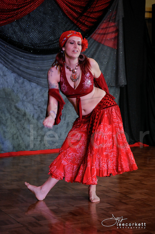 A dance performance at the 2014 BadAss Dance Festival