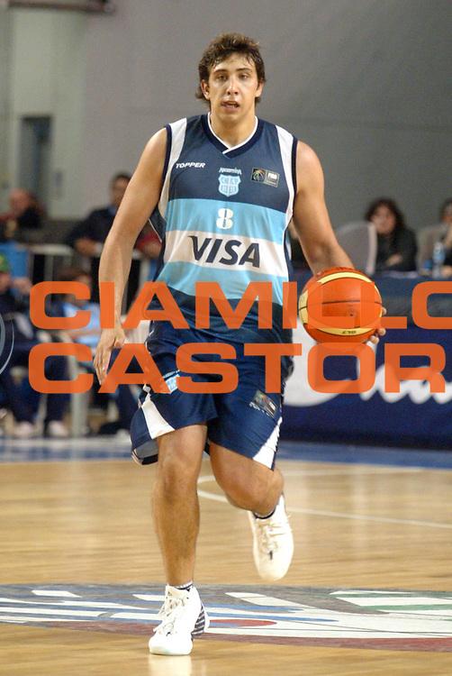 DESCRIZIONE : MAR DEL PLATA FIBA UNDER 21 WORLD CHAMPIONSHIP FOR MEN CAMPIONATO DEL MONDO UNDER 21 MASCHILE<br />GIOCATORE : OPRANDI<br />SQUADRA : ARGENTINA<br />EVENTO : UNDER 21 WORLD CHAMPIONSHIP FOR MAN CAMPIONATO DEL MONDO UNDER 21 MASCHILE<br />GARA : LITUANIA-ARGENTINA<br />DATA : 12/08/2005<br />CATEGORIA : PALLEGGIO<br />SPORT : Pallacanestro<br />AUTORE : AGENZIA CIAMILLO &amp; CASTORIA/M.Ciamillo